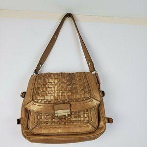 ELLIOTT LUCCA Leather Shoulder Medium Handbag